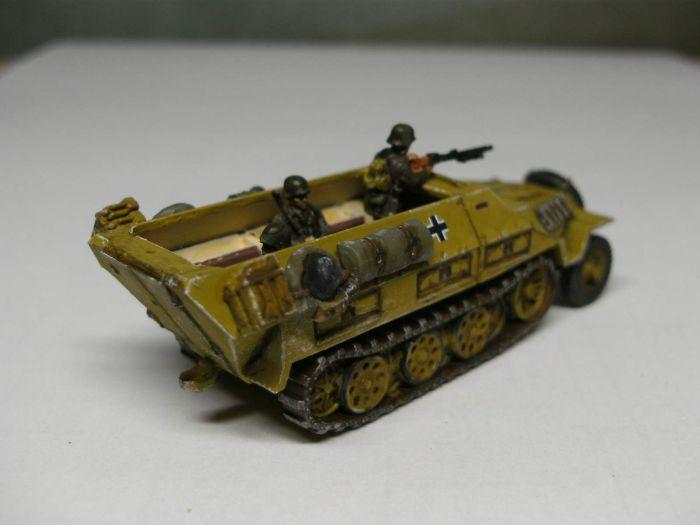 Das Sd.Kfz. 251/1 Ausführung D
