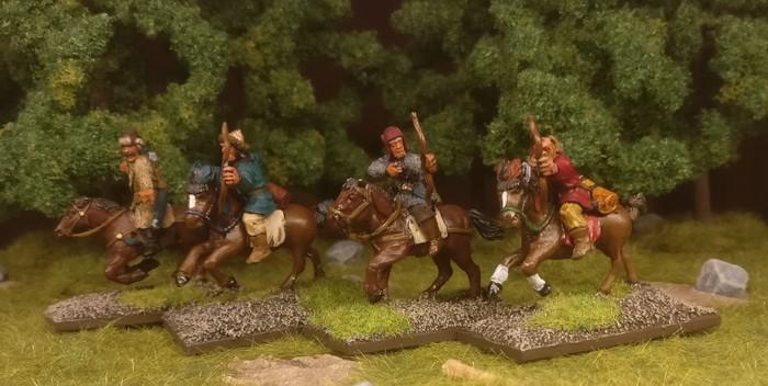 Die Athanatoi der Byzantiner-Armee (SAGA) im Einsatz.
