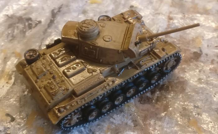 Der Panzer III ausf. L von Atlas nach dem Auftrag des Washs.