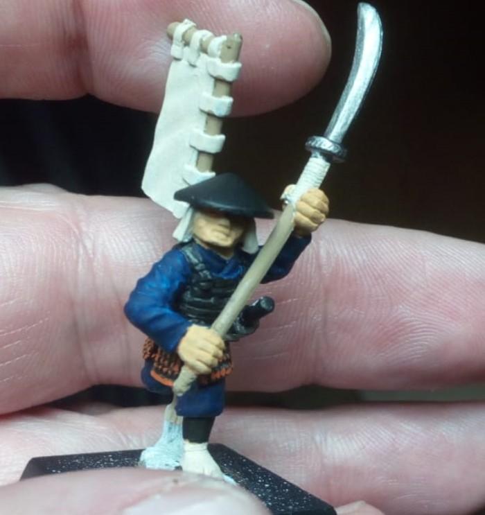 Ein weiterer Krieger aus der Dixon-Serie der Samurais in 28mm.