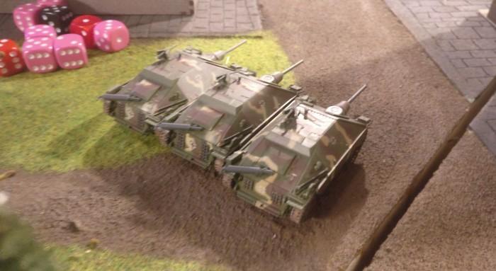 Das deutsche Hetzer-Platoon