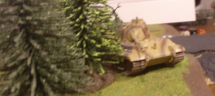 Der Königstiger: meist im Ambush-Modus