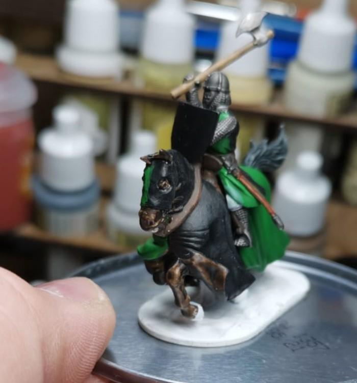 Halvarsons Ritter der Heidnischen Ritter von Asgard für SAGA.