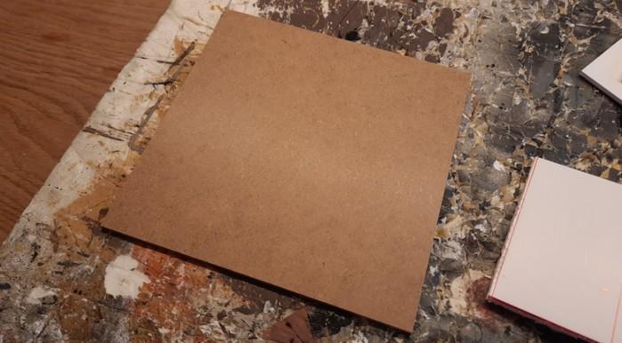 Ein Terrain Tile in der Größe 15cm x 15cm wird Bir Qu'ashem aufnehmen.