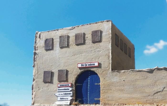 Mitten zwischen Tunis und Karo gelegen: Bir Qu'ashem.