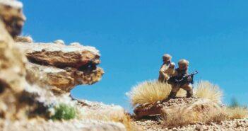 Monte Sturmine: der höchste Berg in Unikornisch Nordafrika