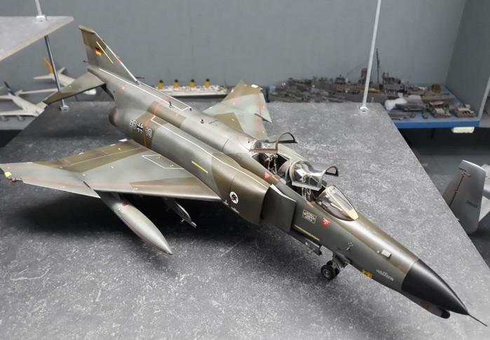 Die RF-4E Phantom II der Luftwaffe auf Josefs und Florians Nilkheim Airshow.