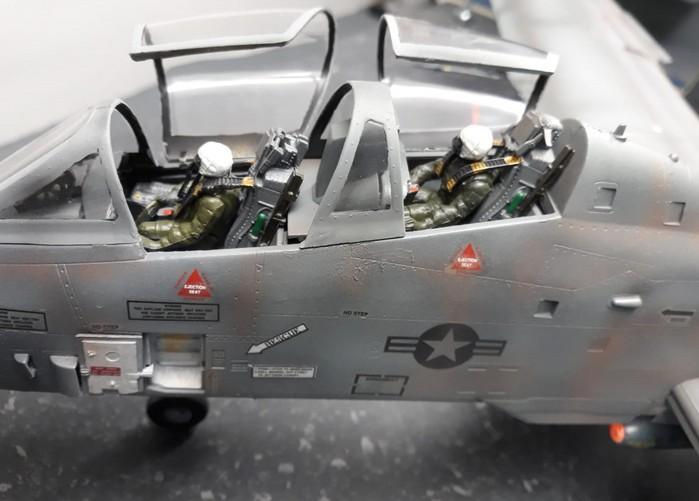 Die Republic Fairchild A-10 Thunderbolt auf Josefs und Florians Nilkheim Airshow.
