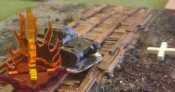 """PBI-Battle: """"Russland 1941"""", gespielt nach dem Regelwerk """"Poor Bloody Infantry"""" in der Monnemer Einhorn-Arena"""