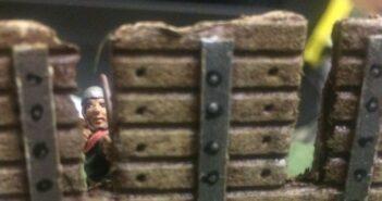 Der Pluteus: eine Schutzwand für XENAs Truppe