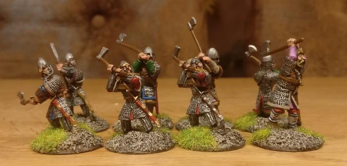 Finito: meine SAGA-Warägergarde ist bereit für die Byzantinische Sache zu streiten.