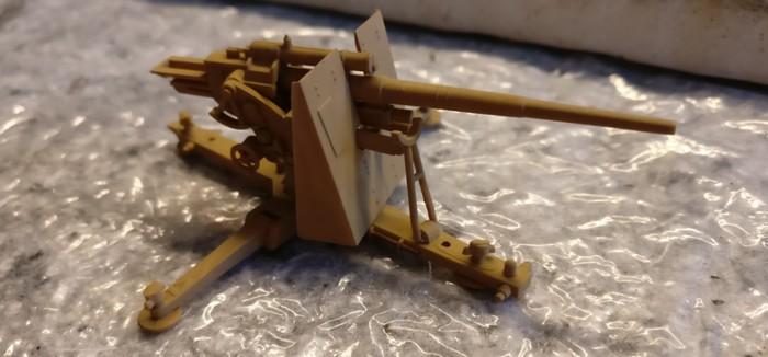 Eine der 8,8 cm FlaK 36.