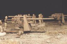 Drei 8,8 cm FlaK 36 für Afrika