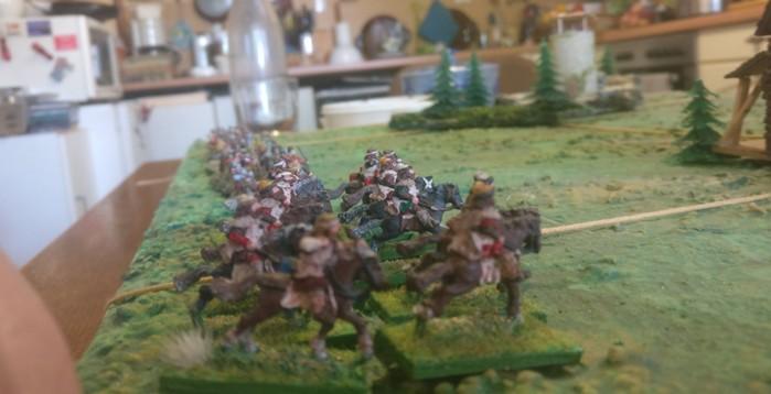 Die berittenen Veteranen der Fürsten des Ostens (Litauer)
