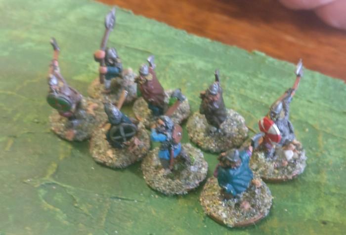 Eine SAGA-Einheit Krieger der Wikinger