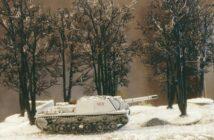 """Bäume im Winter: Winterwald in 15mm und 20mm. Wie Doncolors Bäume von Berlin an das Elektrizitätswerk """"Elektroles 25. Oktober"""" und das Sägewerk Nr. 2. bei Kuporosnoje verpflanzt wurden."""