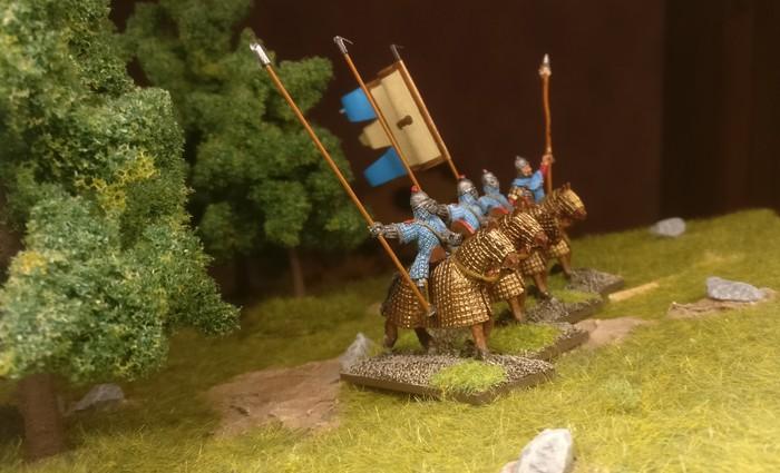 Die Kataphrakten als Veteranen-Reiter der SAGA-Byzantiner