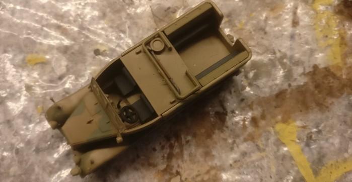 So wird er ausgeliefert, der DeAgostini Sd.Kfz. 11, 15. Pz.Div., El Alamein 1942