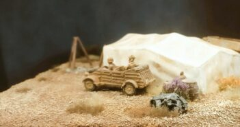 Italeri 6148: Desert Well and tents