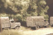 Vier Opel Blitz 3.6-36 S in 15mm vom Bestellonkel