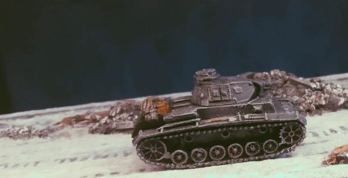 Hier steht der Panzer III Ausf. N des  Pz.Rgt. 36 der 14. Pz.Div. aber ganz sicher in Stalingrad.
