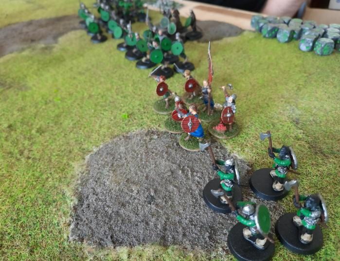 Die Truppen von General Jan von Hock zu Asgard