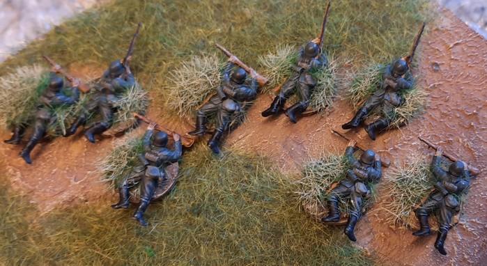So kommen die Steppenkrieger zur Truppe.