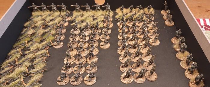 Grenadier-Regiment 57 der 9. Infanteriedivision für Battlegroup