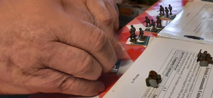 XENA @ Work: die Basierung  der Platoons für die British Infantry Company für PBI von Mark war sein Job