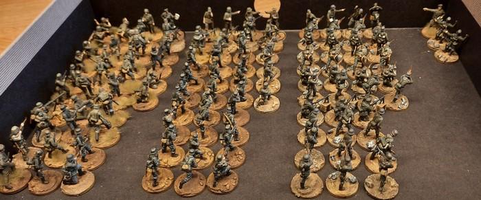 Schützen-Regiment 1 der 1. Schützen-Brigade der 1. Panzer-Division (Frankreich) für Battlegroup