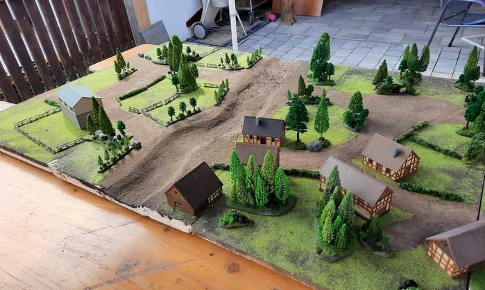 Der hintere Teil der Battlegroup Kursk Spielplatte