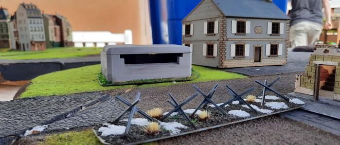 Der Bunker kontrolliert die Einfallstraße vor Kursk (Stadtteil Eisenstadt)