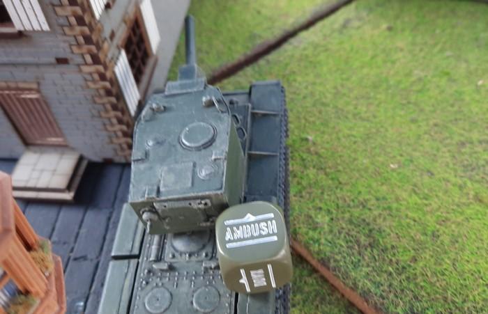 Hier der KV-II von oben.