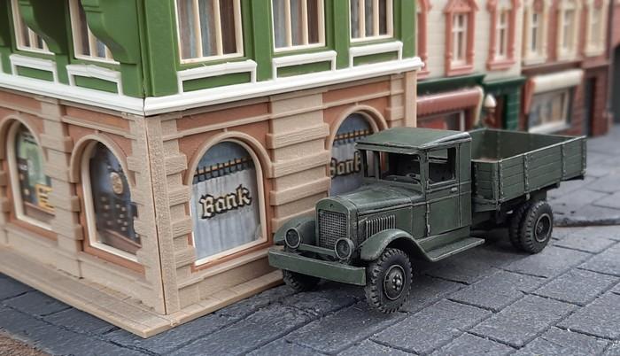 Der rettende Munitions-Lkw der Roten Armee.