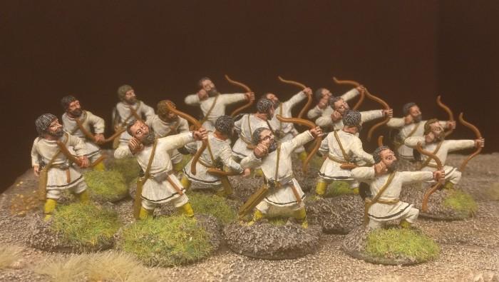 Die fertigen SAGA-Bogenschützen.