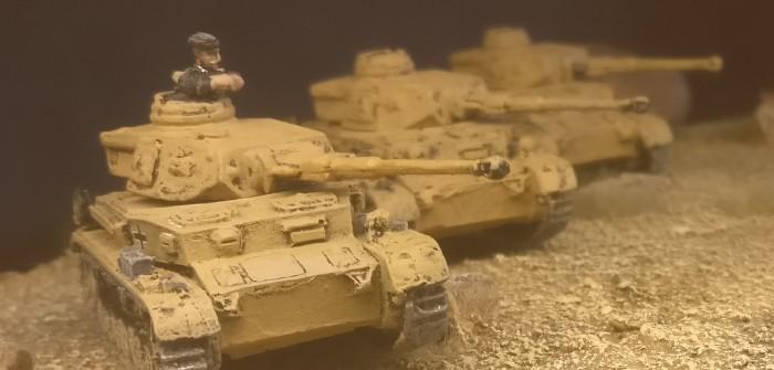 Panzer IV Ausf. F2 mit 7,5-cm-KwK 40 L/43 in 15mm: Zuwachs für das Panzerregiment 5 der 21. Panzerdivision
