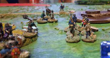 SAGA-Tag in Monnem: Angelsachsen gegen Wikinger