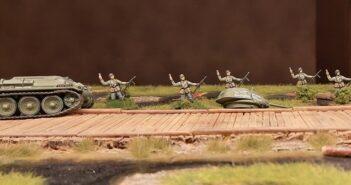 10 Mann für das Infanterie-Regiment 510