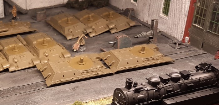 Die weitere Ausstattung der 159. Panzerbrigade: Bemalung der Boliden