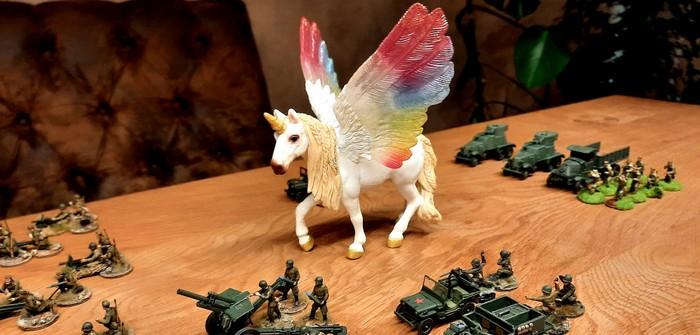 Unicorn goes Pegasus?