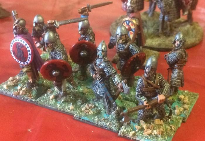 Byzantinische Infanterie.