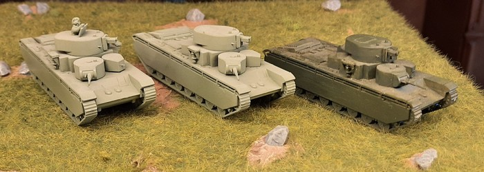 Drei T-35...