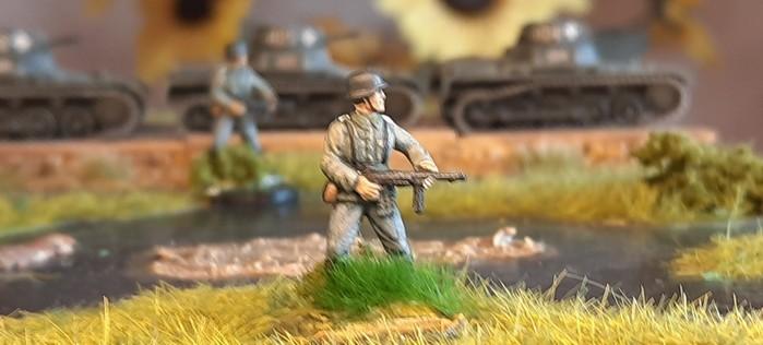 Einer der sechs Rekruten des Infanterie-Regiment 510 der 293. Infanterie-Division
