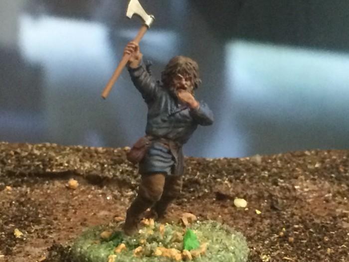 """Der Jarl """"Cetrik Xenasson"""" der Wikinger hat einen Leibwächter: """"Rollo"""" gerufen."""