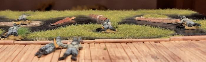 Blick von hinten. Major Alsdruf fotografiert vom Knüppeldamm aus.