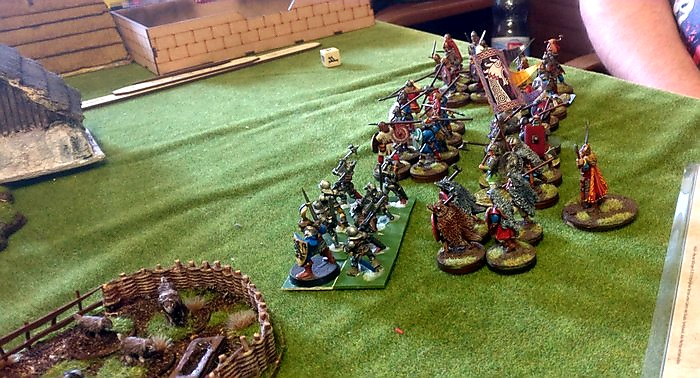 Mark lässt seine SAGA-Armee der Wikinger losmarschieren.
