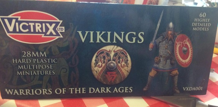 Victrix Vikings - Warriors of the dark ages.