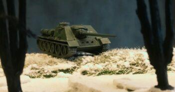 Zvezda 6211 Soviet Tank Destroyer SU-100
