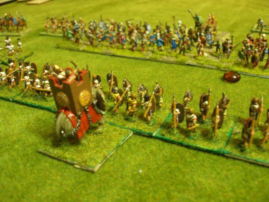 Xeniasos der Große auf seinem Kriegselefanten