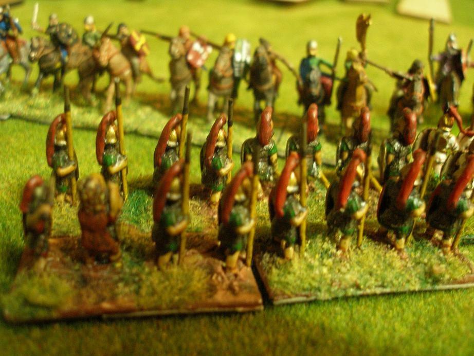 Auch auf dieser Flanke steht ein Kontingent punischer Veteranen...